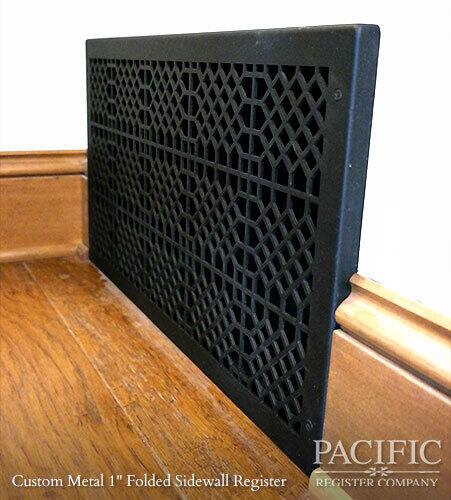 Custom Metal 1 Folded Sidewall Register
