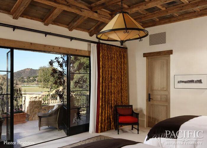 Plaster bedroom Pacific Register