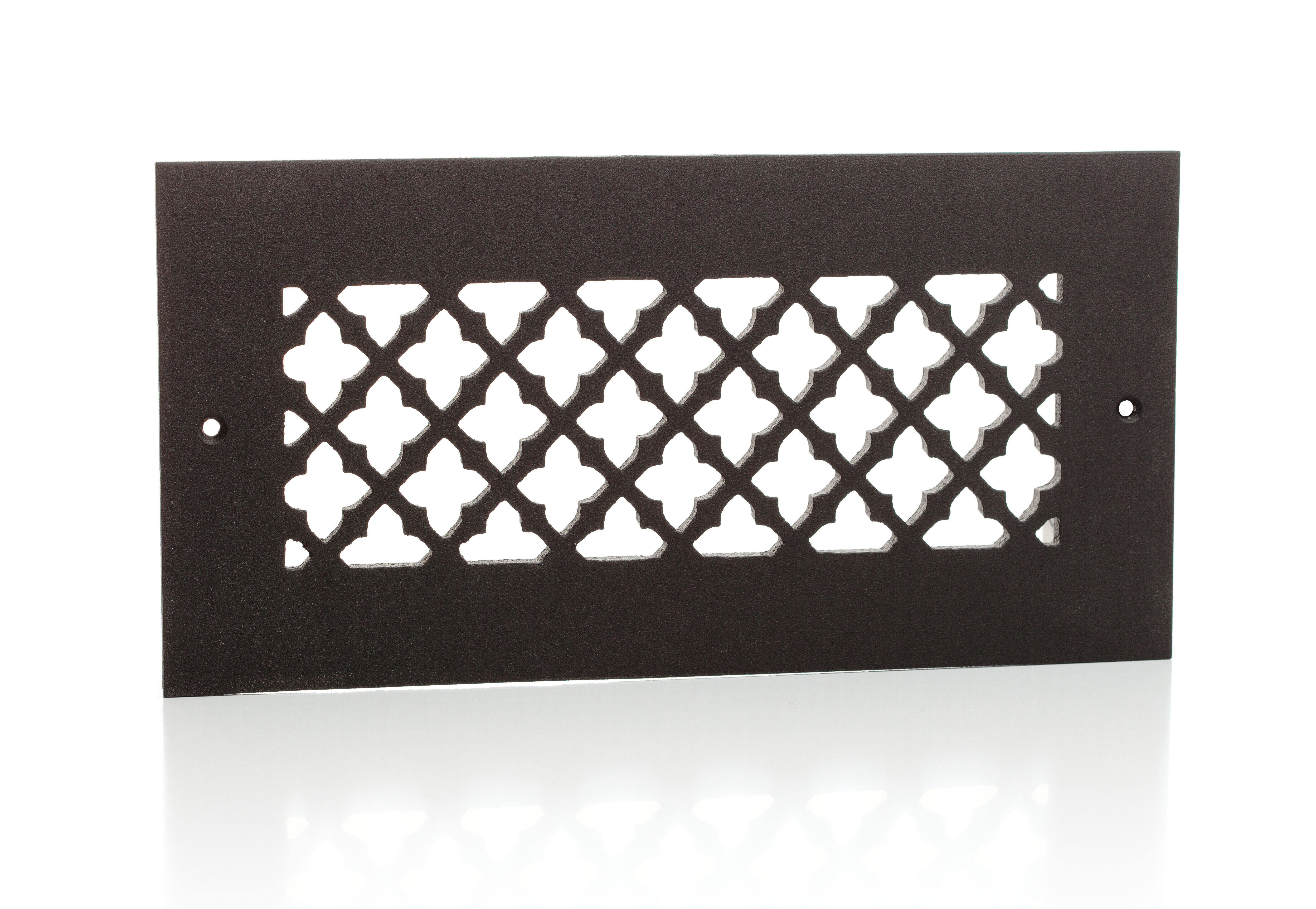 Cast Aluminum Clover Vent Covers Wall Ceiling Floor Pacific