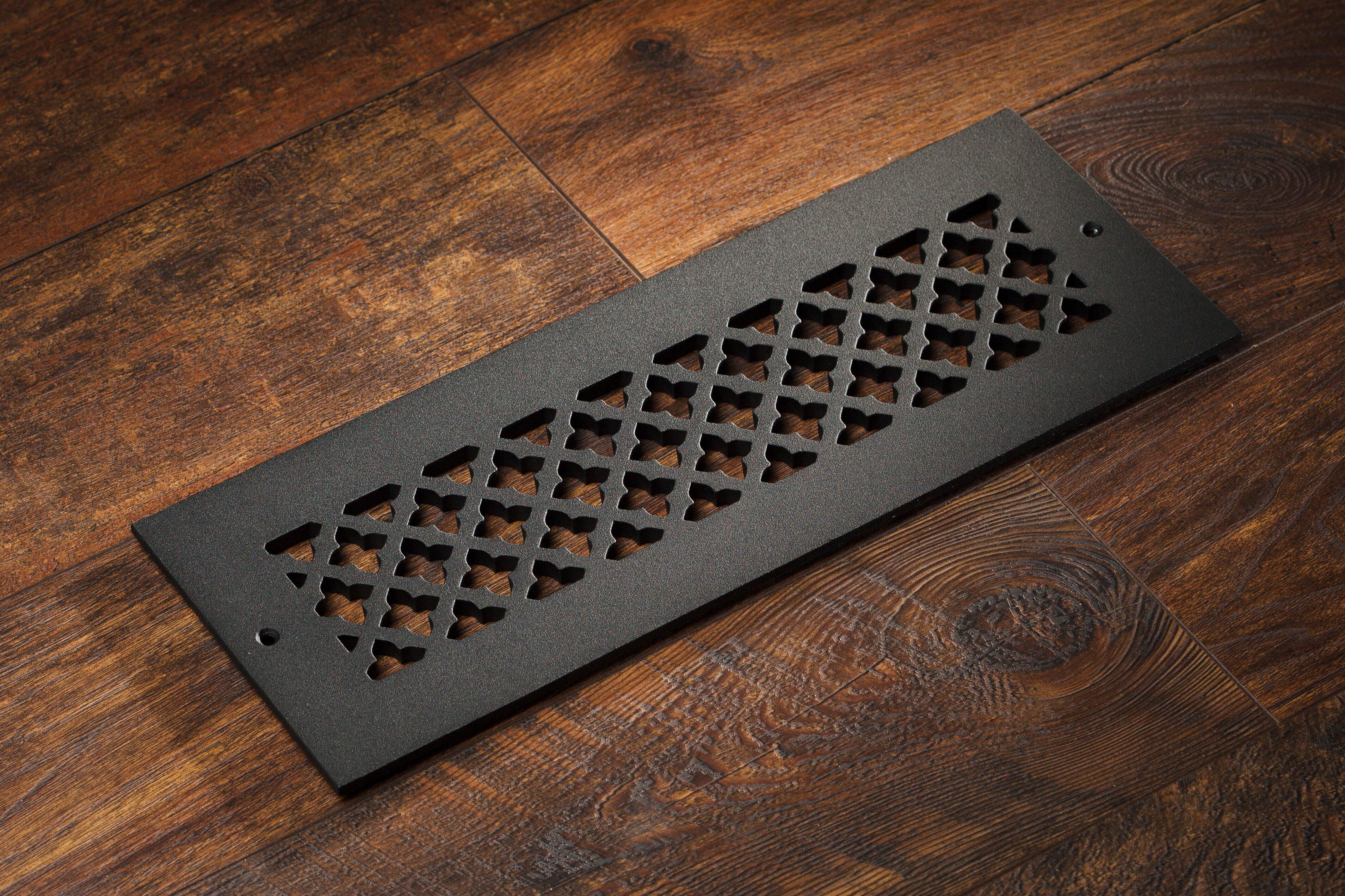 Cast Aluminum Clover Vent Covers Wall Ceiling Floor