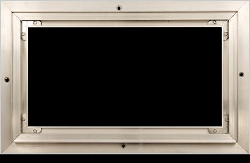 flush mount frame pacific register