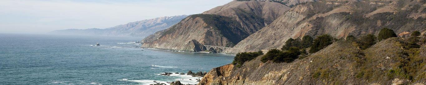 pacific register costal landscape