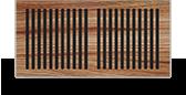 wood self rim grille thumb pacific register