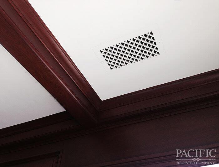 1 flush mount vent pacific register