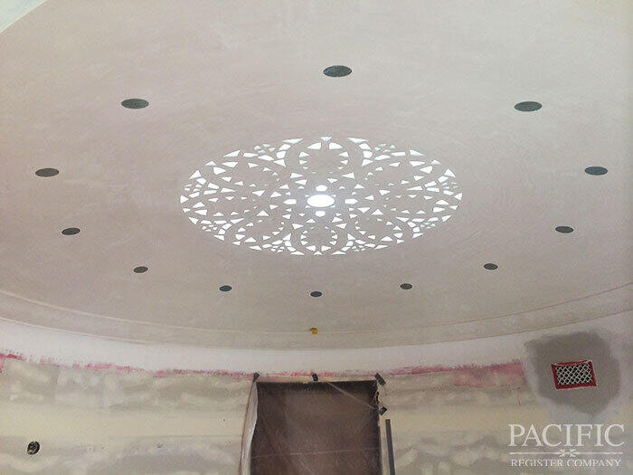 ceiling dome pacific register