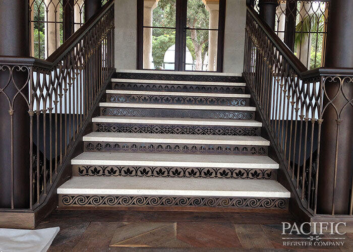 Pacific Register staircase full