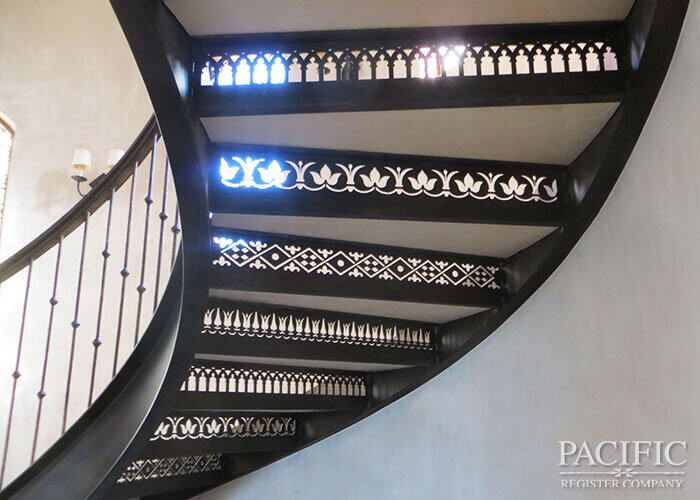 pacific register Usher stair stringer